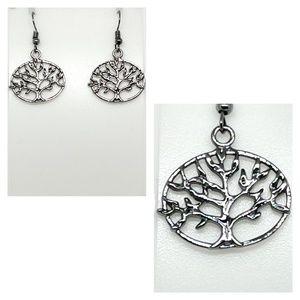 NWOT Tree of Life earrings